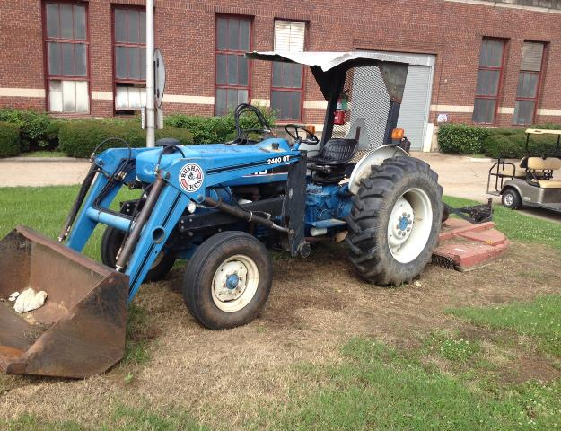 1992 Ford 3930 Diesel Tractor W Front End Loader 980194