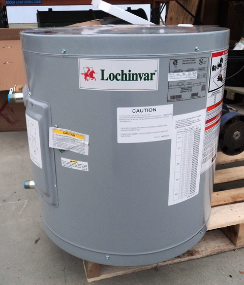 Lochinvar 19 Gal Hot Water Heater