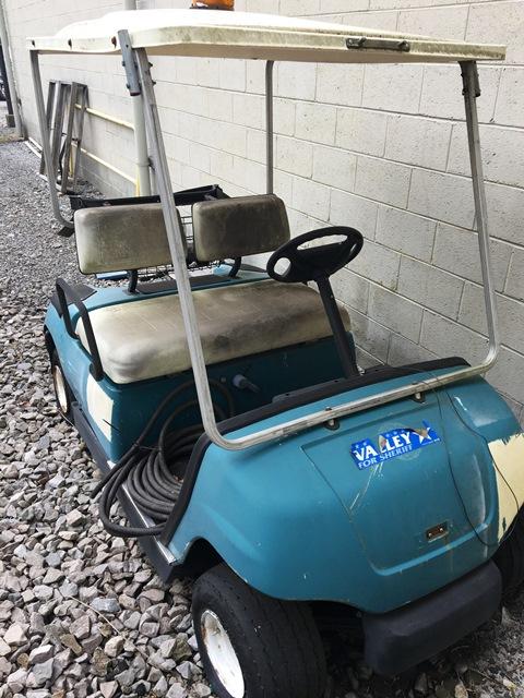 1997 yamaha g16a golf cart salvage for Yamaha golf cart id