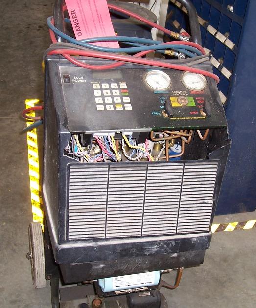 Robinair Ac Machine >> ROBINAIR R-134a AC Recovery Unit