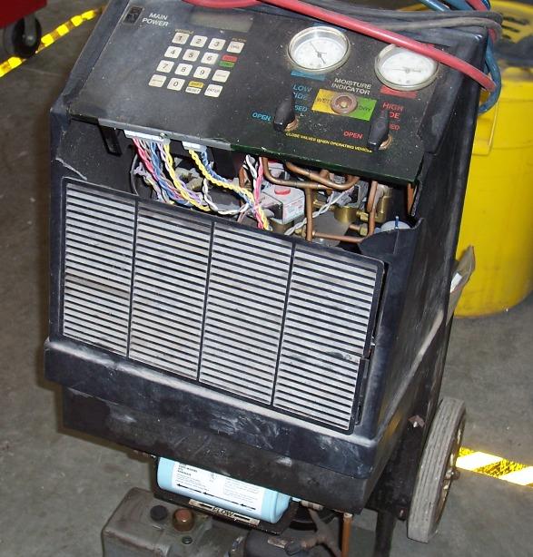 refrigerant recovery machine robinair