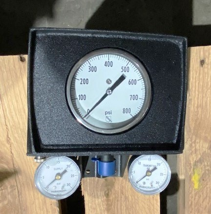 Ashcroft 4080 Pressure Transmitters w/ Gauges (Qty 3) - Thumbnail