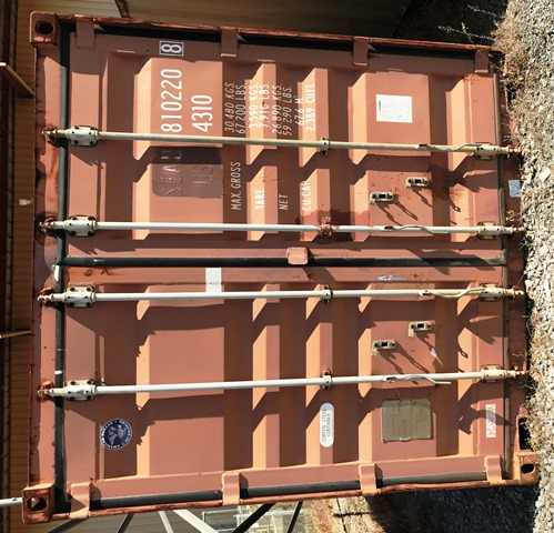 Conex Container, 40 ft (810220) Thumbnail 2
