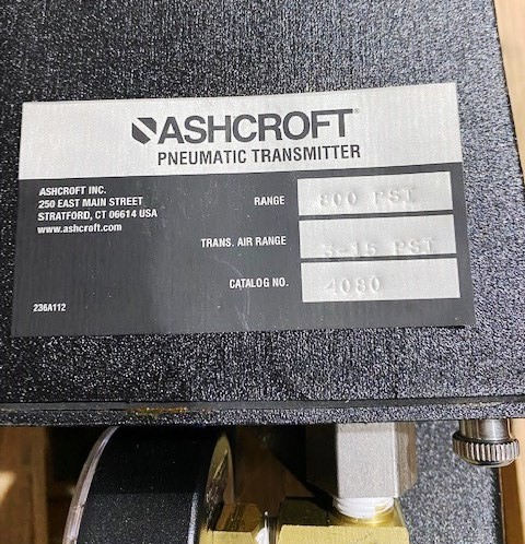 Ashcroft 4080 Pressure Transmitters w/ Gauges (Qty 3) Thumbnail 3
