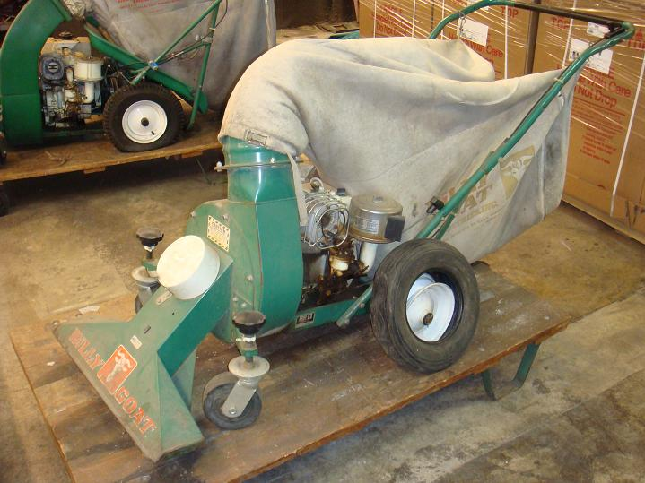 More Auction Product Images AEP SURPLUS Billy Goat Lawn Vacuum BT80V