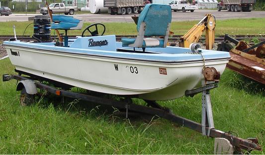 1979 hustler fiberglass bass boat
