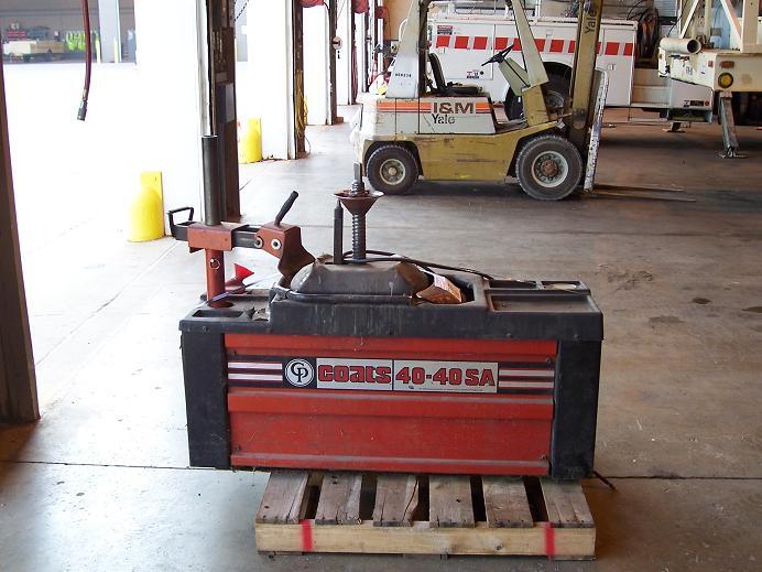 Tire Changer Coats Model 40-40SA