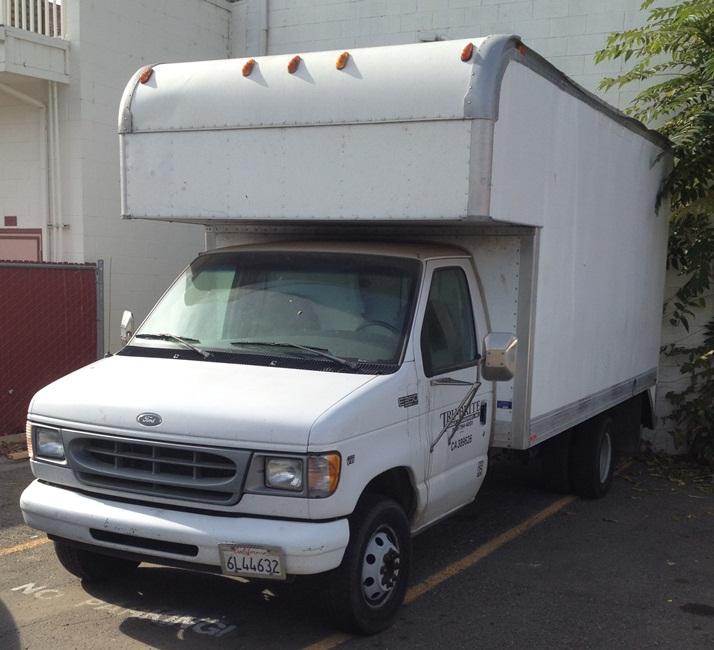 2000 Ford Econoline E150 Cargo Interior: 2000 Ford Econoline E350 Super Duty DRW Box Truck (590169