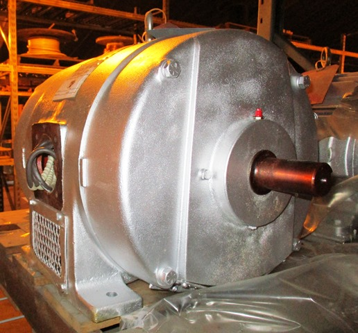 GE & Baldor 30 HP Electric Motors - 3550 RPM - 550 VAC (Qty-2 Motors) Thumbnail 4