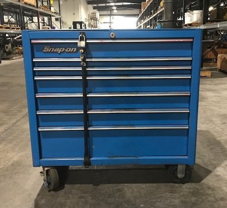 Blue Snap-On Toolbox large image