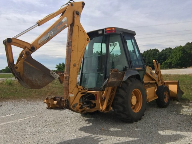 1997 Case 580L 2WD Construction King Backhoe/Loader with 3 Buckets
