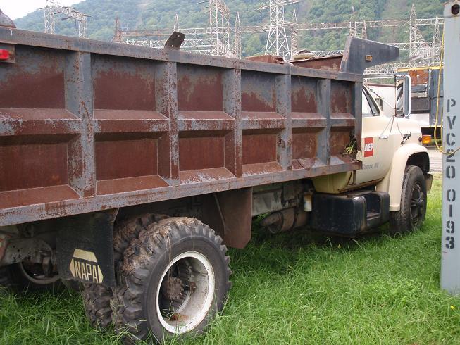 1 Ton Dump Body Manufacturers : Truck gmc diesel w dump bed