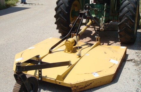 King Kutter 6 Ft Lift Pto Bush Hog