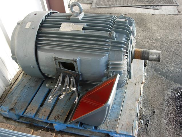 Teco Westinghouse Motor