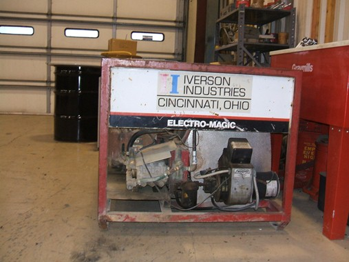 Electro Magic Hot High Pressure Washer